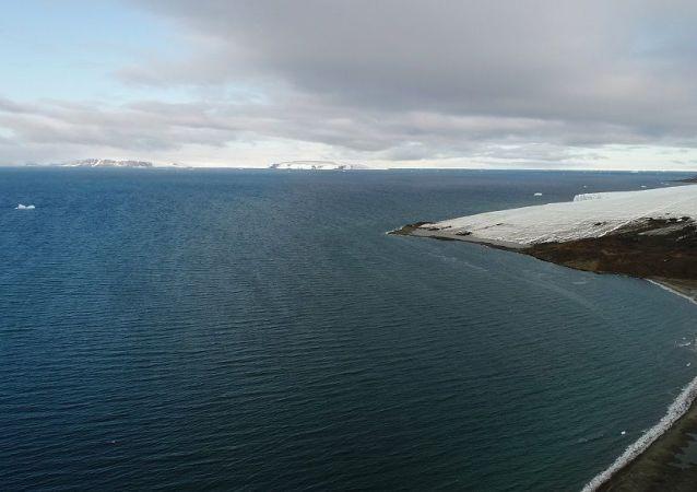 冰川,北极