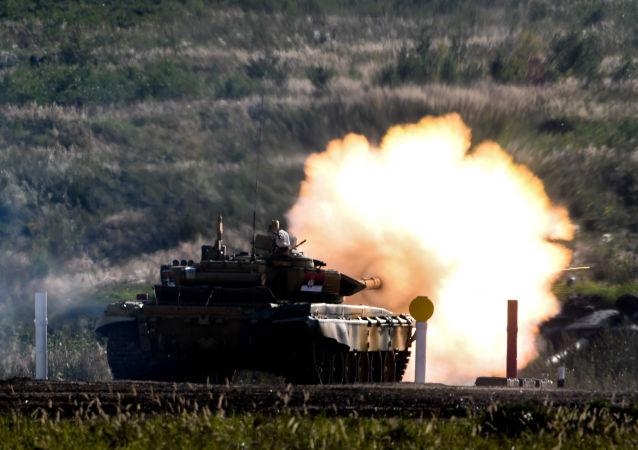 """""""国际军事比赛-2020""""坦克两项"""