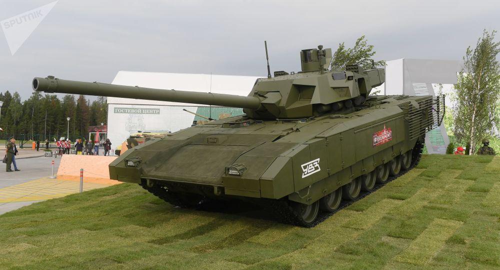 """《国家利益》高度评价俄罗斯""""阿玛塔""""坦克性能"""