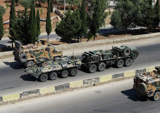 俄土军方在叙利亚执行2021年首次联合巡逻任务