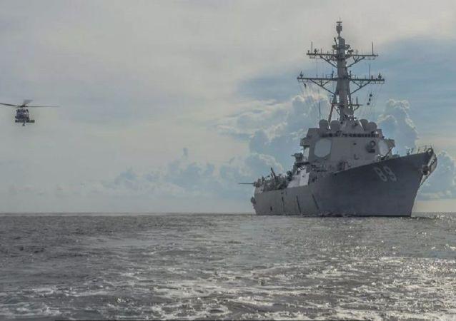 上半年美国派出近3000架次军机、60余艘次军舰在南海炫耀武力