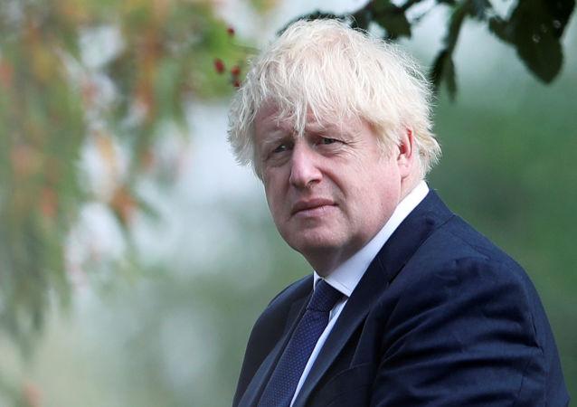 英国首相鲍里斯∙约翰逊