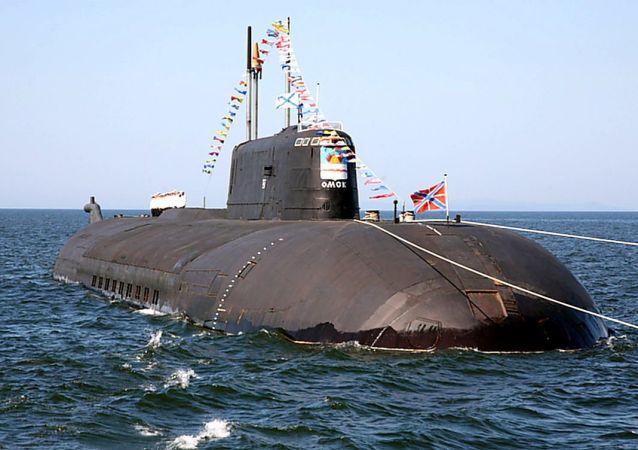 """""""鄂木斯克""""号水下核巡洋舰"""