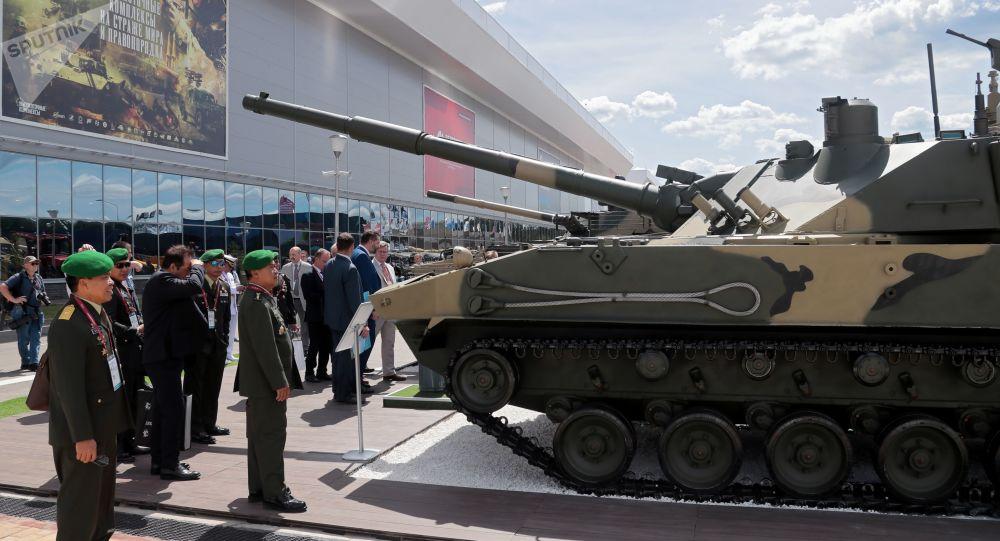 """全球唯一两栖轻型坦克""""章鱼-SDM1""""将于2022年完成国家试验"""
