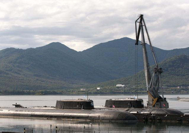 """俄联合造船集团:仍在进行""""哈士奇""""和""""卡琳娜""""级核潜艇的自主研制工作"""