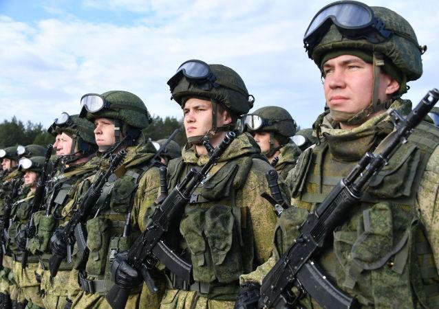 俄军将在俄塔军演中运用在叙利亚获得的经验