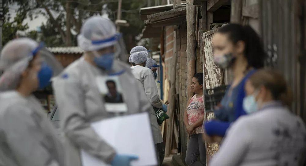 巴西新冠病毒死亡病例已增至15.39万例