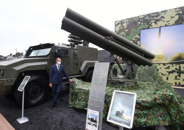 """俄罗斯新一代""""赫尔墨斯""""导弹系统"""