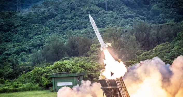台湾天弓一型防空导弹