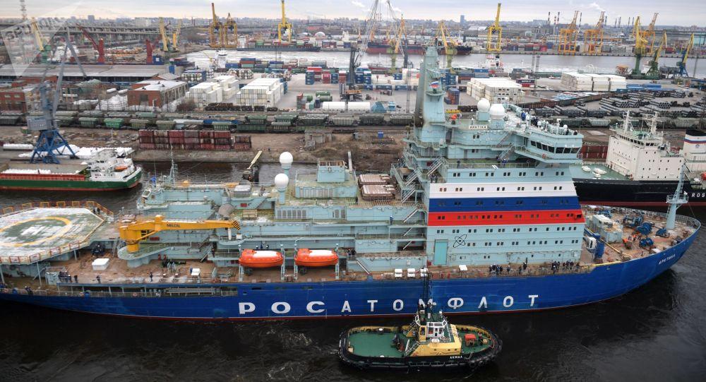 """22220型""""北极""""号核动力破冰船"""