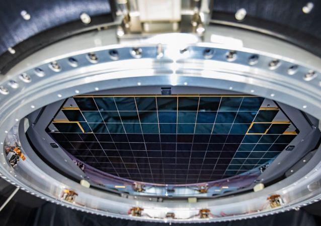 世界上最大的数码相机拍摄首张照片