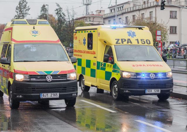 捷克布拉格因匿名爆炸威胁正对内政大楼进行人员疏散
