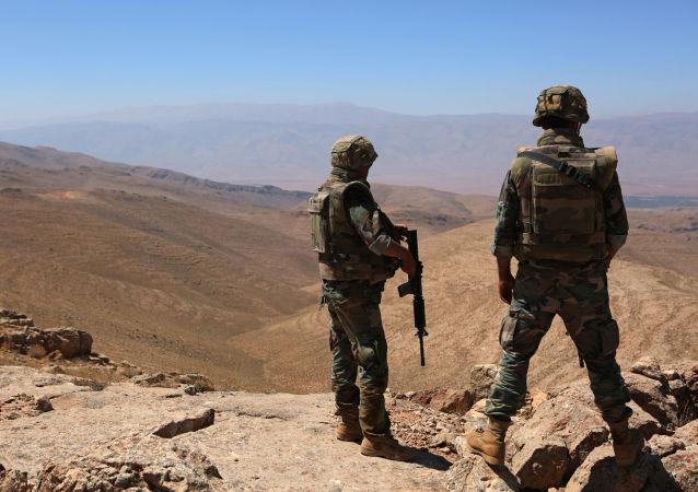 黎巴嫩军人(资料图片)