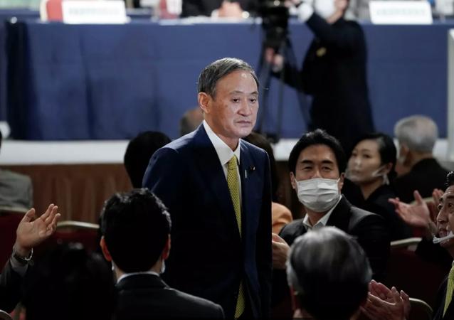 日本新任首相菅义伟