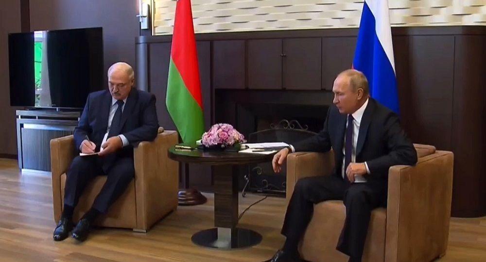 俄罗斯总统普京与白俄罗斯总统卢卡申科, 索契