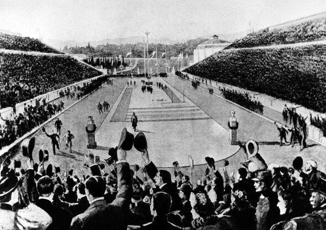 1896年的奥运会