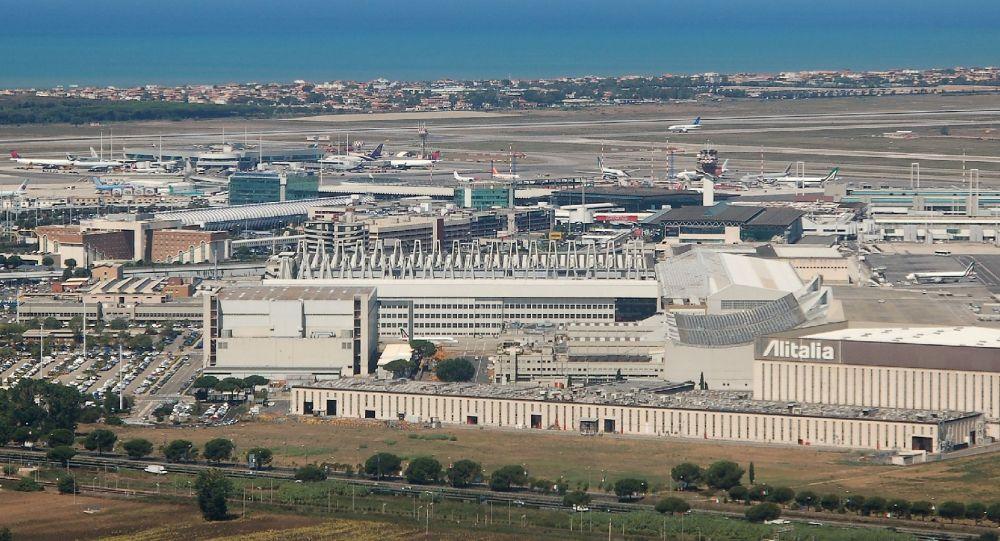 罗马的菲乌米奇诺机场