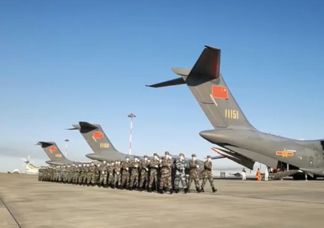 """中国和白俄罗斯军队抵俄参加""""高加索-2020""""演习"""