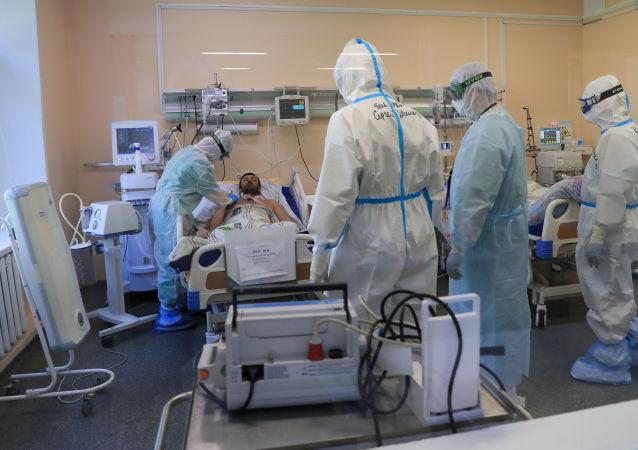 俄单日新增新冠确诊病例14922例 累计达到1384235例
