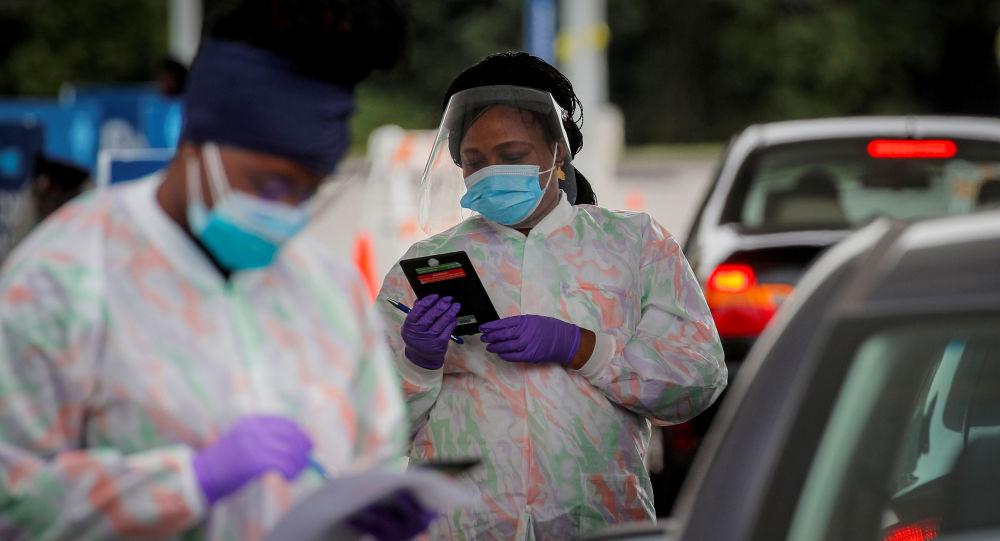 约翰斯∙霍普金斯大学:美国单日新增新冠病毒感染病例超4.5万例