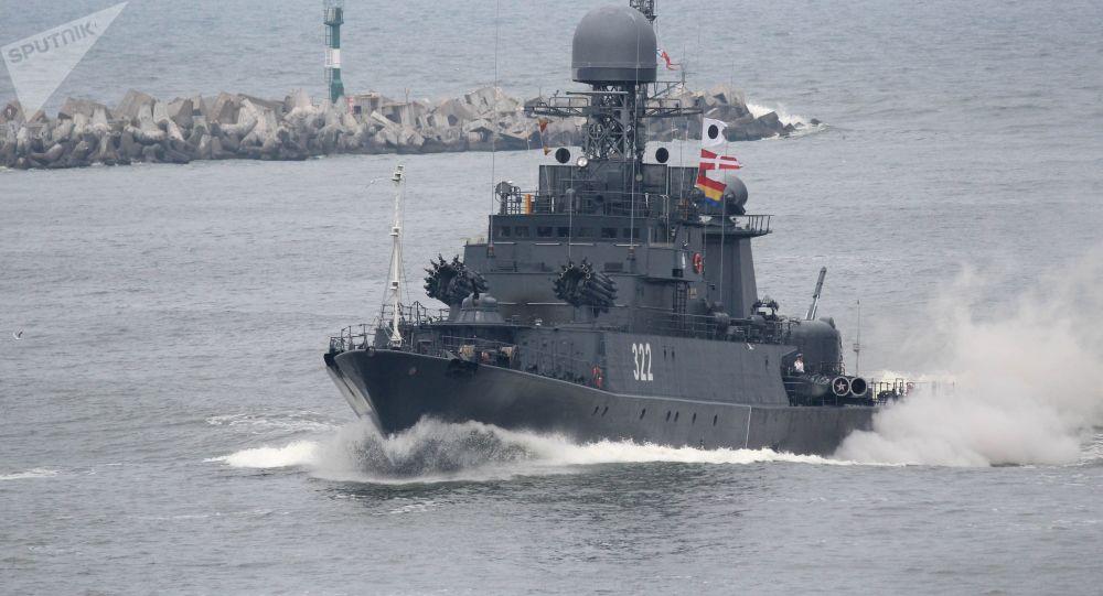 因能见度低一冷藏船与俄军船相撞