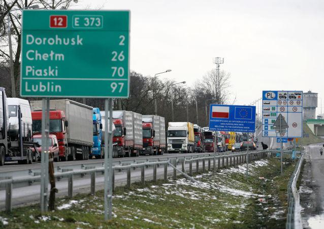 白俄罗斯禁止从波兰进口商品