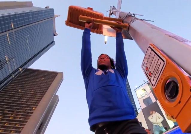 跑酷运动员 蜘蛛王征服纽约