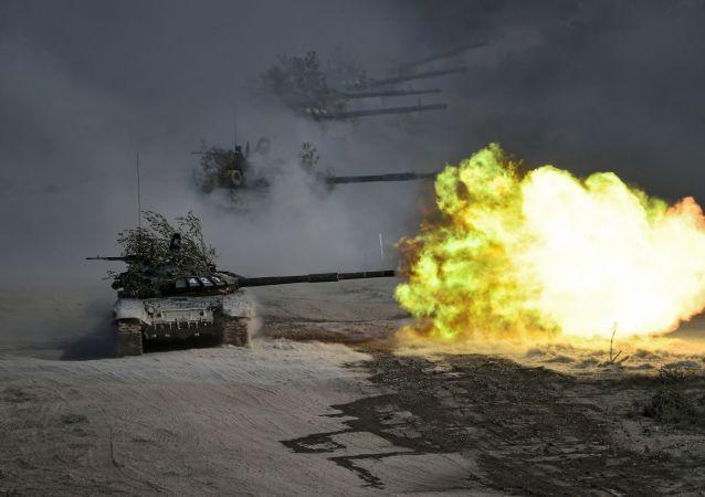 美国测试LIDAR机器人 目标是摧毁俄T-72坦克