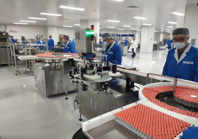 中国新冠疫苗CoronaVac