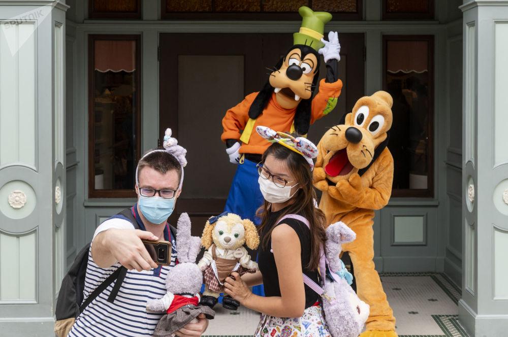香港迪士尼乐园重新开放