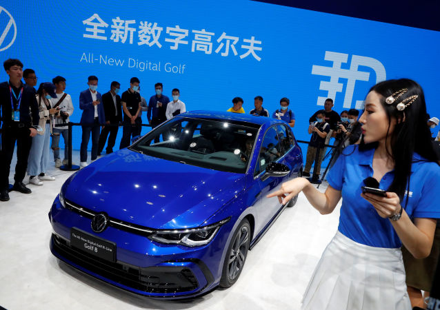 2020北京国际汽车展览会照片
