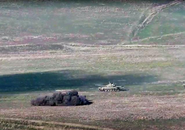 亚美尼亚国防部:阿塞拜疆武装部队破坏停火在纳卡地区发动进攻
