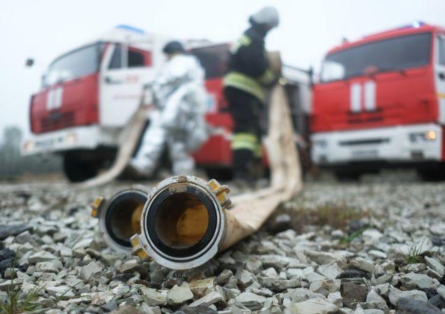 俄首都救援人员已准备就绪应对所有紧急情况