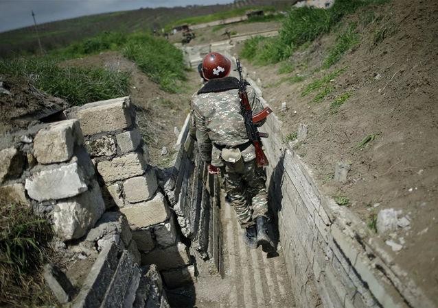 亚美尼亚军人,纳卡地区