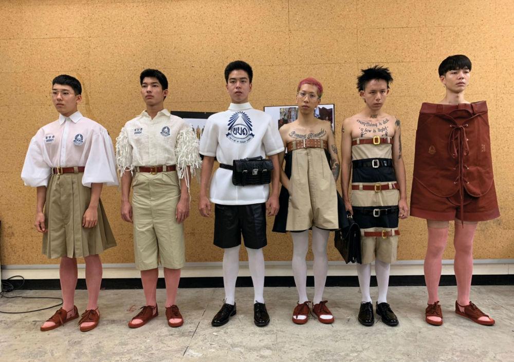 泰国各式校服