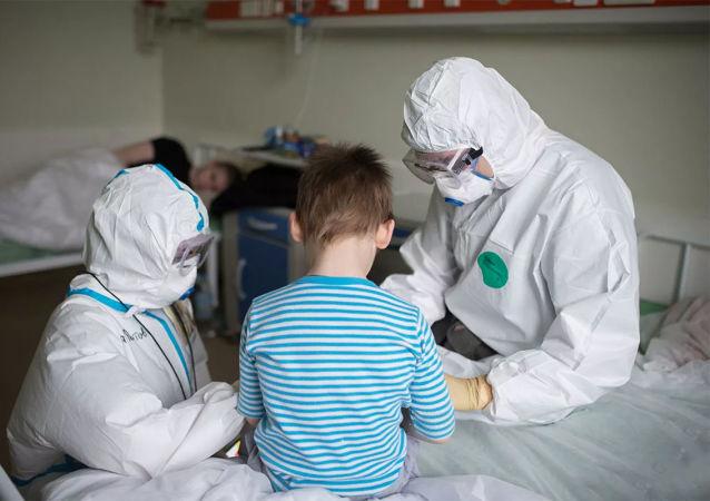 医生发现新冠儿童患者新症状