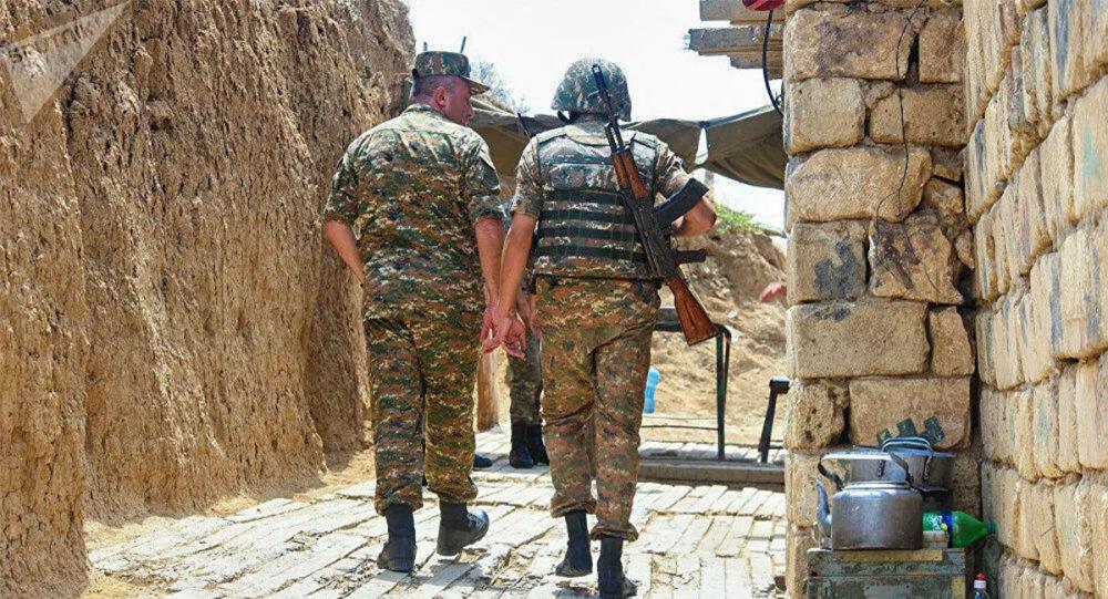 纳卡地区军方称最近一天有25名军人阵亡