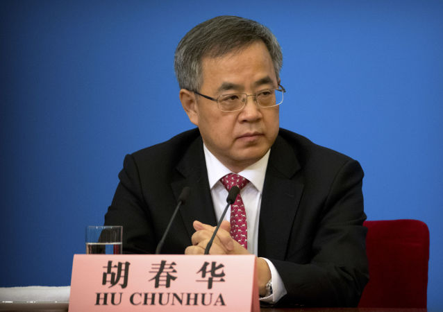 中国国务院副总理胡春华
