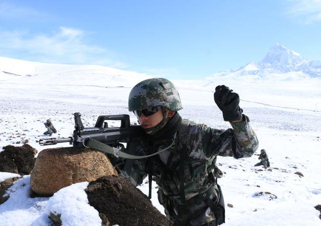 中国西藏军区士兵