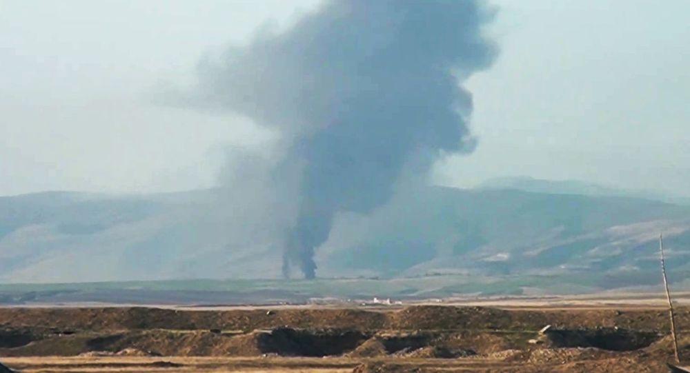 亚美尼亚国防部发布消息称,卡拉巴赫军队今日已击落阿塞拜疆空军第2架飞机