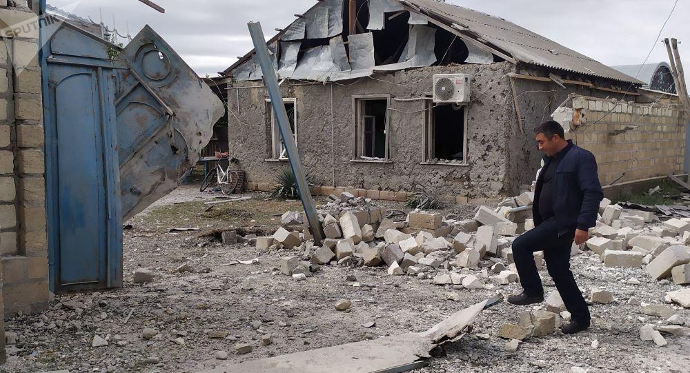 埃里温称巴库使用以色列制造的集束炮弹向纳卡地区开火