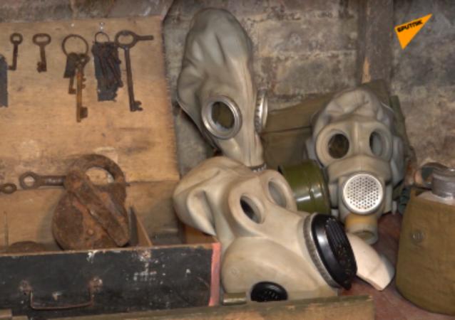 一名小学生在地下室内开设了伟大卫国战争博物馆