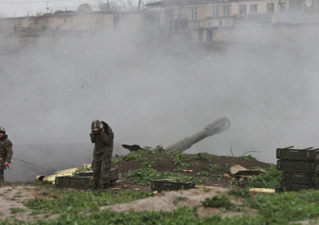 纳卡当局宣布摧毁占贾的军事机场
