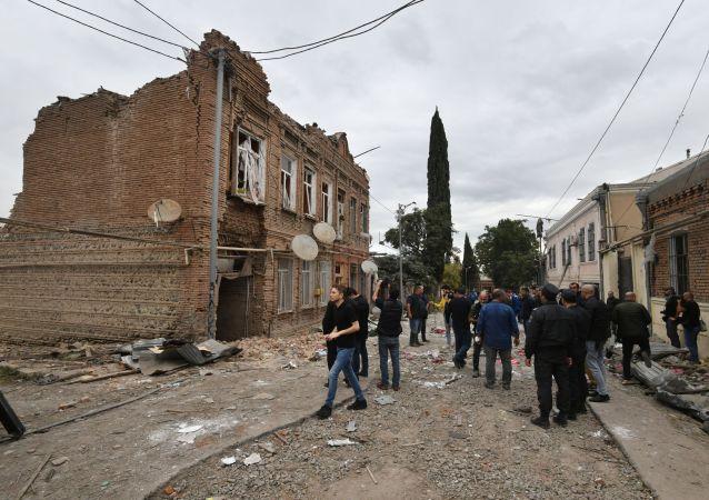 阿塞拜疆总检察院称占贾被袭造成5人死亡 28人受伤