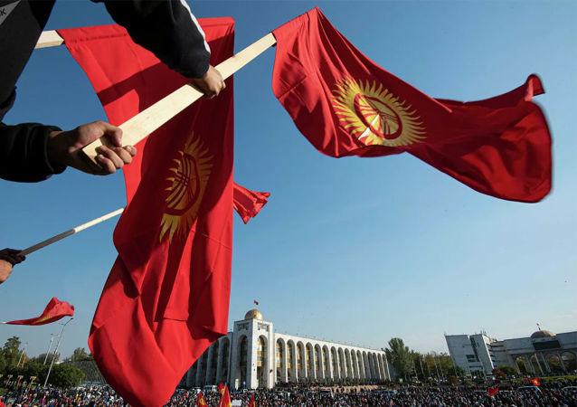 吉尔吉斯斯坦国旗