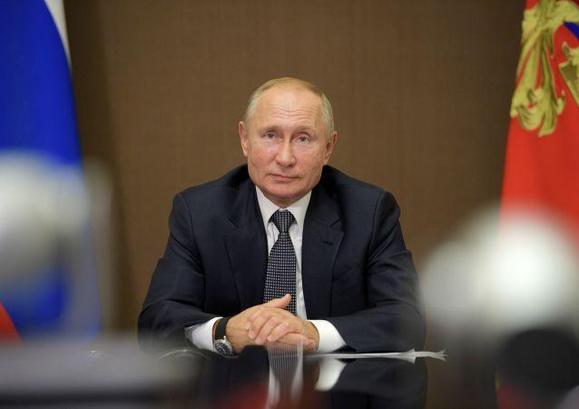 俄总统庆祝自己68岁的生日