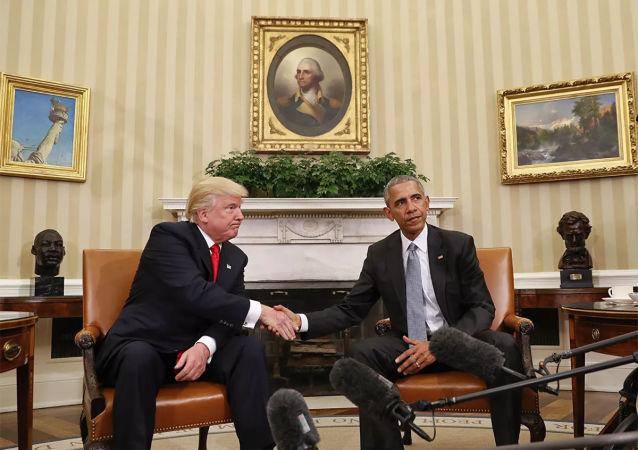 奥巴马和特朗普