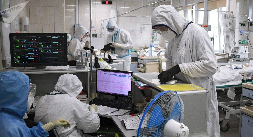 俄新冠感染病例增长连续第二天超过5月指标 单日新增12846例