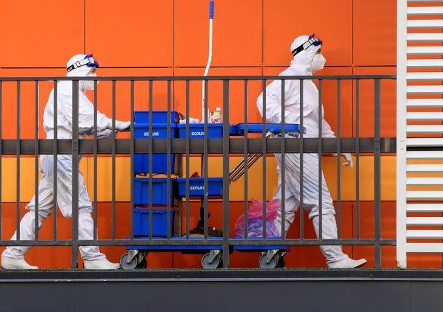 莫斯科单日新增56例新冠肺炎死亡病例