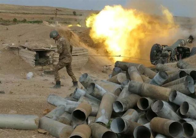 亚美尼亚称纳卡冲突以来击毁阿塞拜疆521台装甲装备